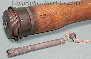 German Stick Grenades, WWII - Inert-Ord net
