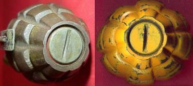 Mk II Hand Grenade, WWII and After - Inert-Ord net