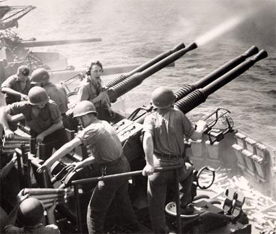 Game anti aircraft gun shell