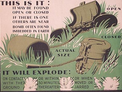 U.S. M83 Butterfly Bomb, Post WWII- Inert-Ord.Net